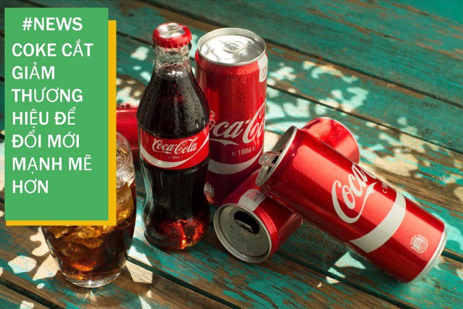 coke cắt giảm thương hiệu