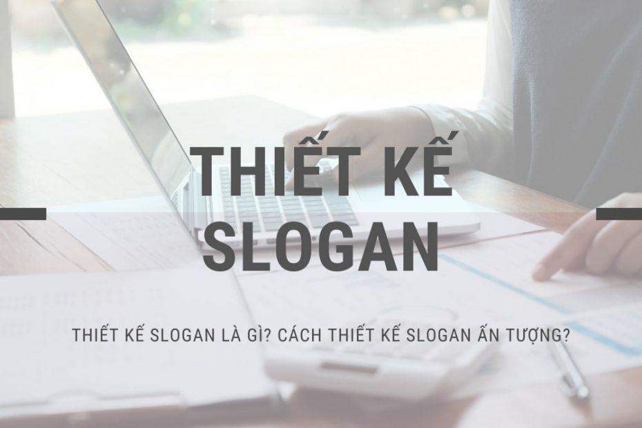 thiết kế slogan